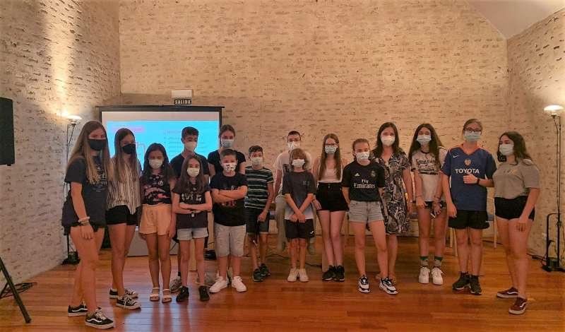 Xiquets i xiquetes participants. EPDA