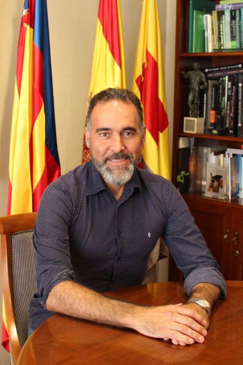 Rafael Serralta, alcalde de Ibi/EPDA