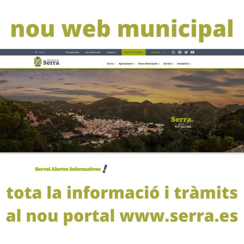 Nova web municipal. EPDA.