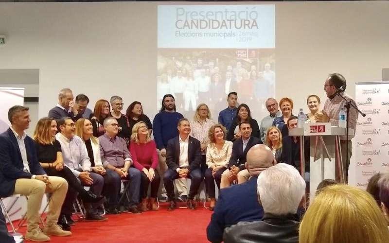 Presentación de candidatos