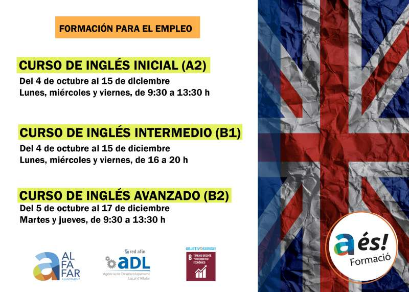 Cursos de inglés. EPDA