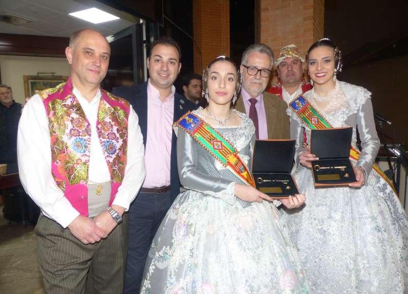 Falleras Mayores, presidente de la JLF, concejal y alcalde de Albal en la Crida. EPDA