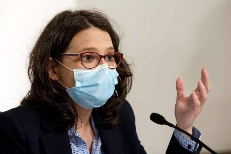 La vicepresidenta y portavoz del Consell, Mónica Oltra