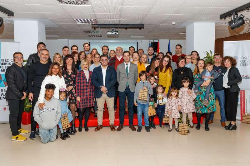Premiados en el centro sociocultural La Fábrica. EPDA