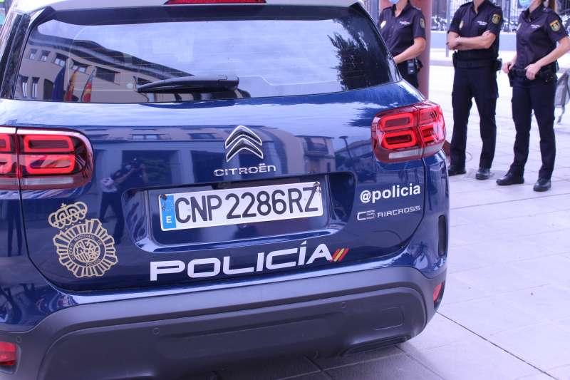 Policia Nacional en el suceso / EPDA
