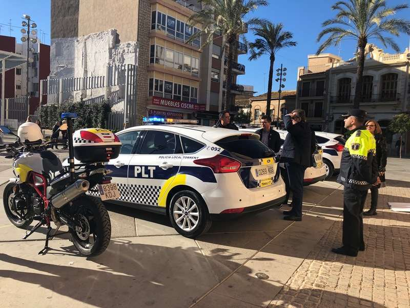 Agentes de la Policía Local de Torrent. EPDA
