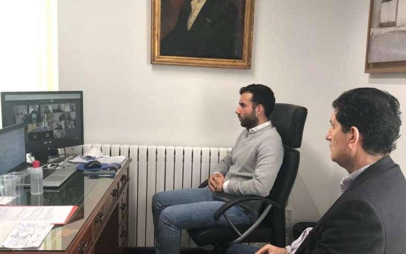 Reunión telemática realizada el domingo. EPDA