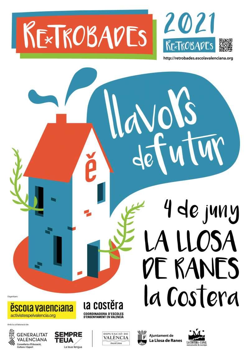 Cartel de les retrobades el 4 de juny a La Costera.