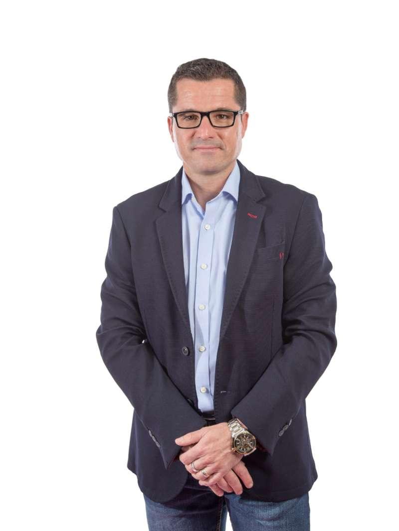 Rubén Rodríguez, ex alcalde de Bonrepòs i Mirambell. Elvira Folguerà