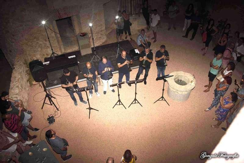 Concert-cata de vi al Castell de Benissanó. Foto: Gonzalo Fotografía