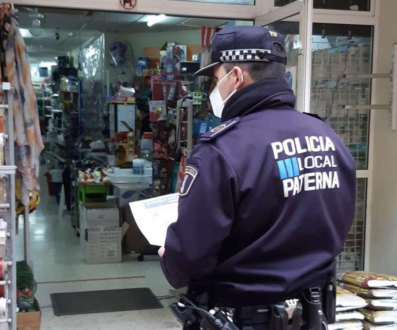 Control de las restricciones en Paterna. EPDA