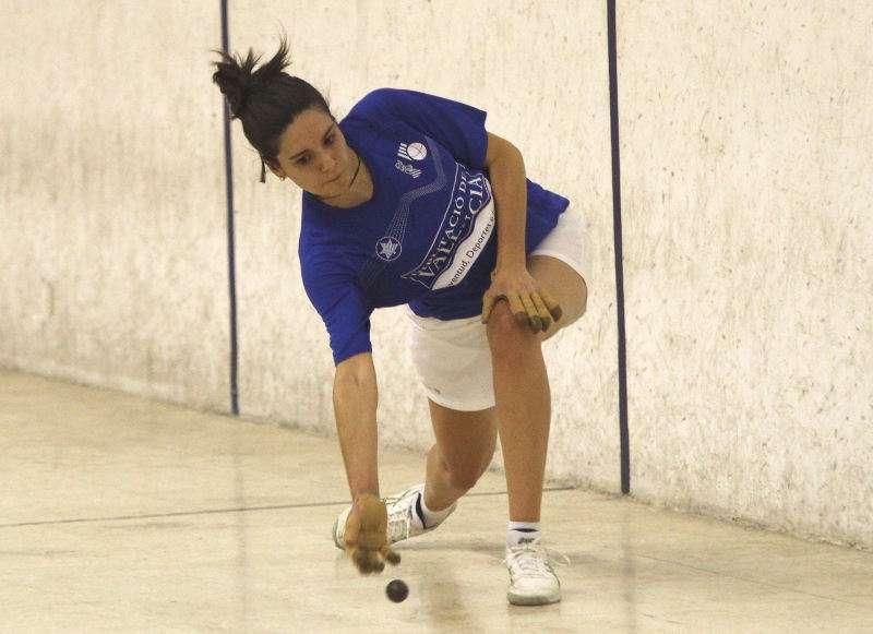 Noelia de Beniparrell, una de les grans jugadores de la modalitat femenina. EPDA