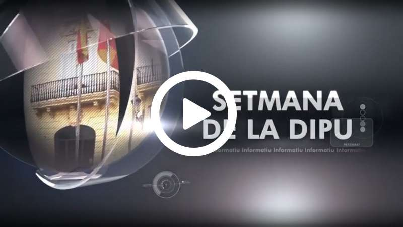 Vídeo de les notícies de la 29 #SetmanaDipu de la Diputació de València