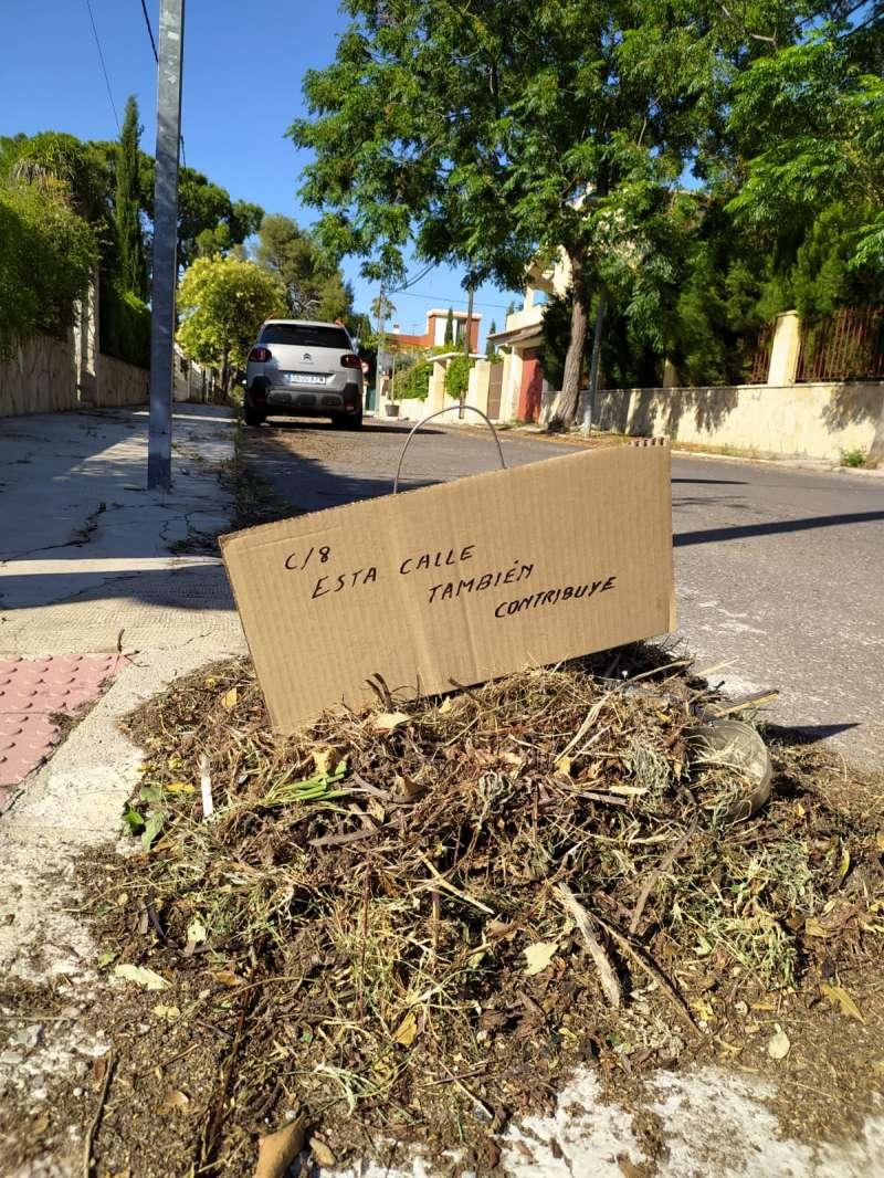 Una de las imágenes de La Cañada facilitada por el PP. EPDA