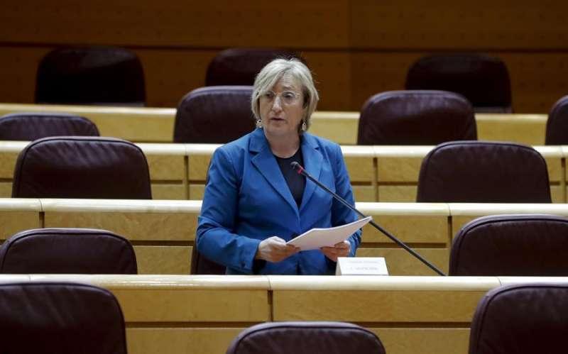 La consellera de Sanidad, Ana Barceló, en una imagen reciente. EFE/Ballesteros