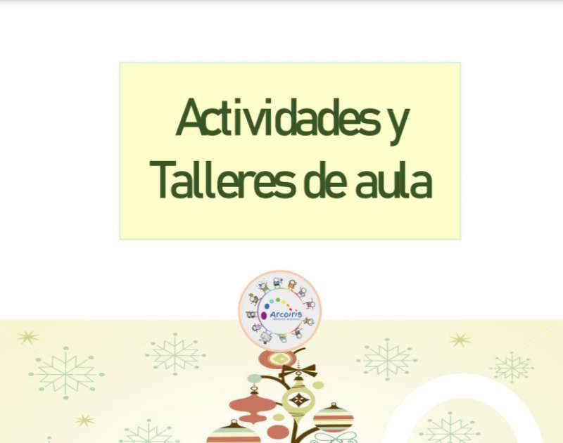 Cartel de la Escuela de Navidad de Loriguilla. / EPDA