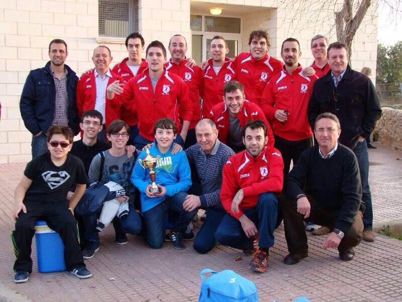Participantes en el campeonato de Pilota