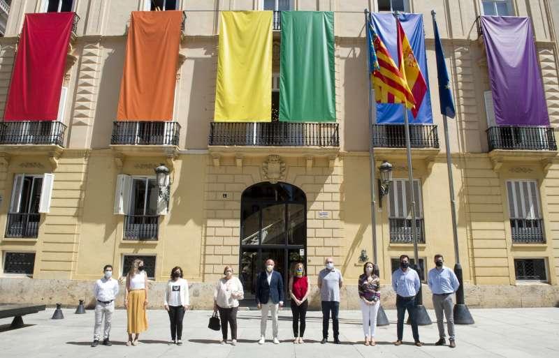 La Diputació de Valencia celebra el día del Orgullo