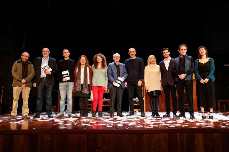 Ganadores del concurso de literatura. EPDA
