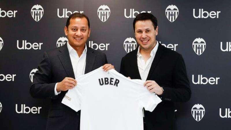 Acuerdo entre el Valencia y Uber