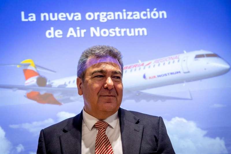 Imagen de archivo del presidente de Air Nostrum, Carlos Bertomeu. EFE