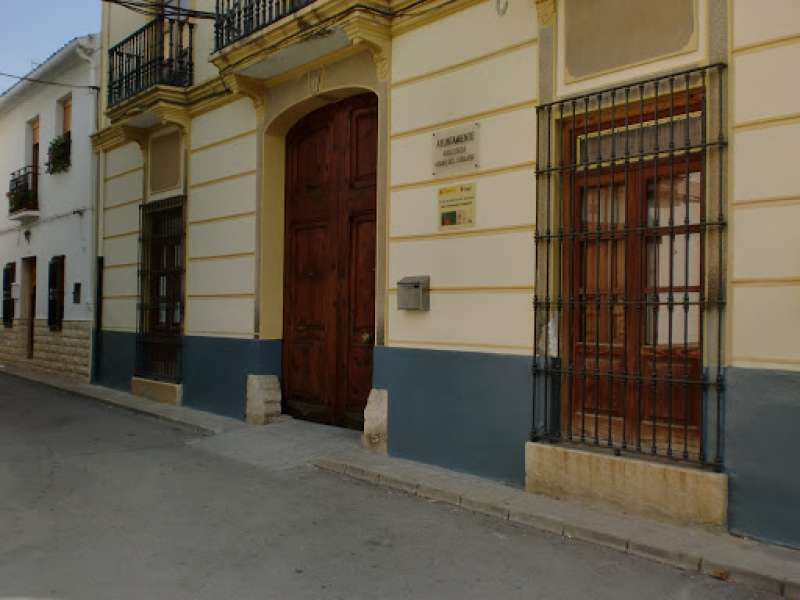 Ayuntamiento Macastre./EPDA