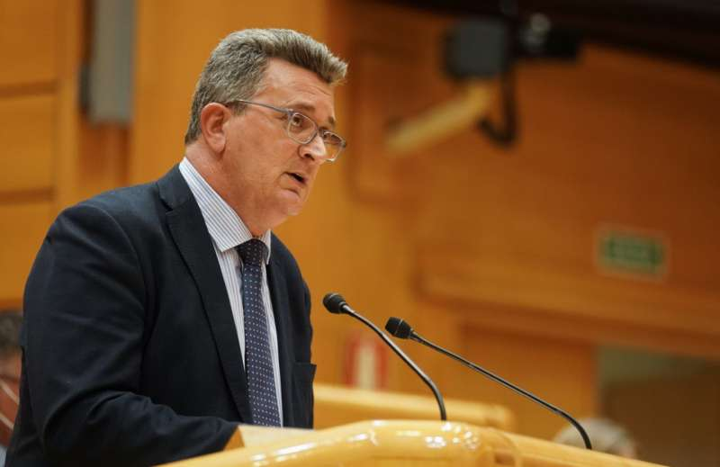 El senador del PP por Castellón, Vicente Martínez Mus