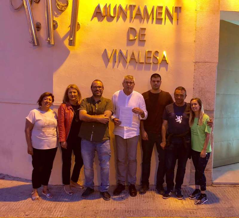 Equipo de gobierno de Vinalesa. EPDA