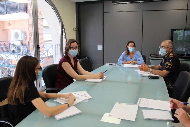 Reunión celebrada para comenzar la redacción el Plan. / EPDA