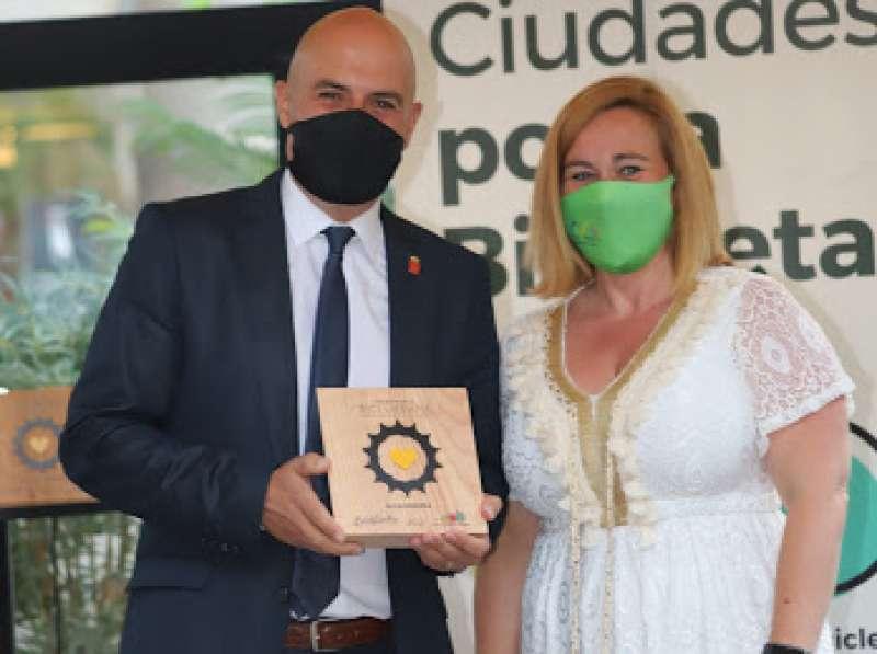 Raúl Claramonte, concejal Movilidad y Transporte Torrent Premio Bicieconomía./EPDA