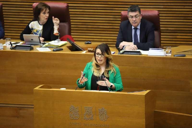 La síndica de Ciudadanos, Mari carmen Sánchez