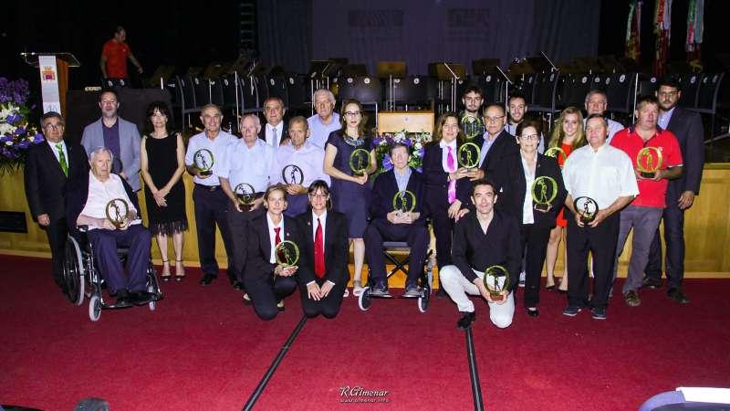 Ganadores de la gala del año pasado. EPDA