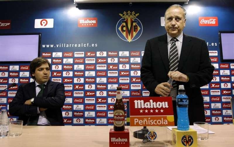 El presidente del Villarreal, Fernando Roig, en presencia de Fernando Roig Negueroles, en una imagen de archivo.