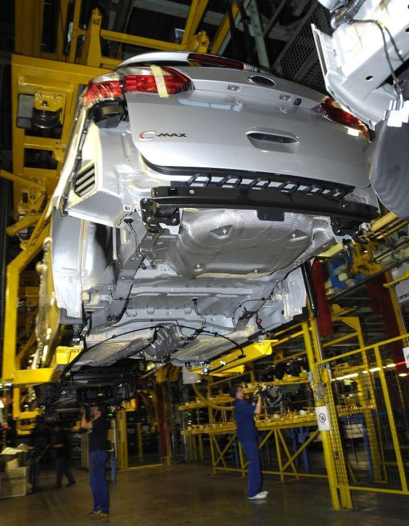 Cadena de montaje de la Ford