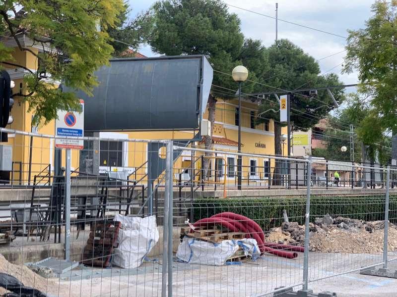 Obras estación La Canyada. EPDA