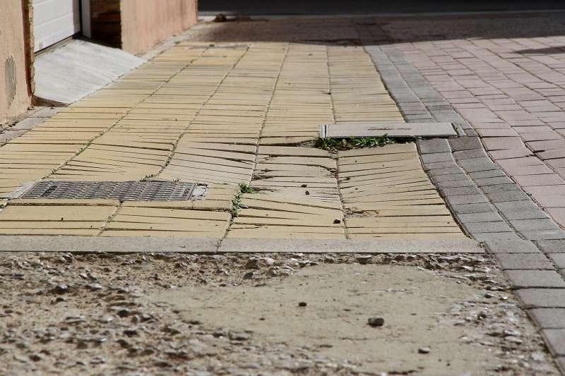 Imagen de desperfectos que se pueden comunicar por esta vía. EPDA