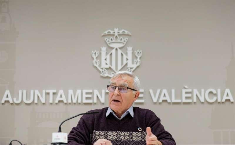 El alcalde de València, Joan Ribó. EFE