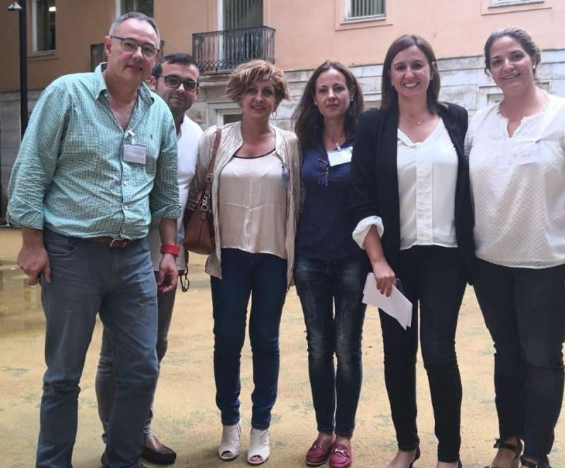 Los populares de Burjassot con Catalá. EPDA