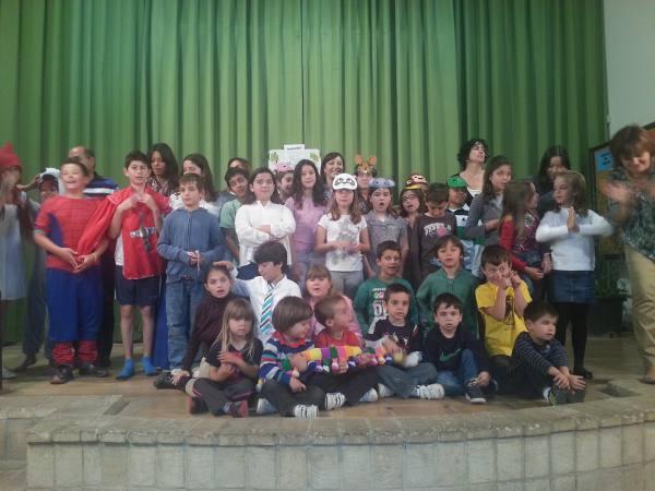 Alumnos del colegio Alfara de la Baronia. EPDA