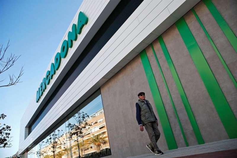 En la imagen, un supermercado de Mercadona. EFE/Manuel Bruque/Archivo
