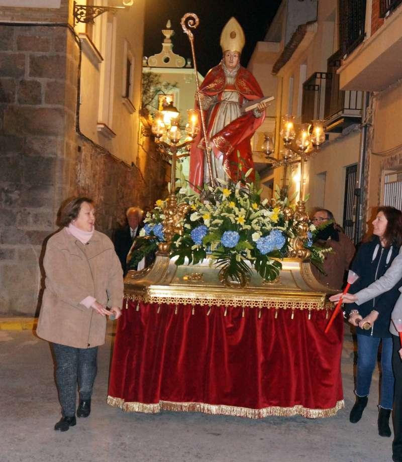 Processó de Sant Blai en Estivella. EPDA