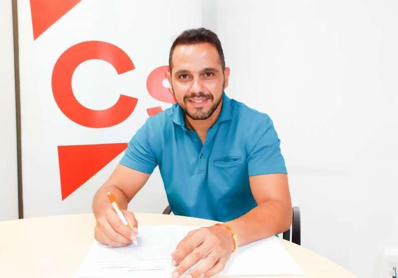 El concejal y portavoz de Ciudadanos Paterna (Cs), Jorge Ibáñez