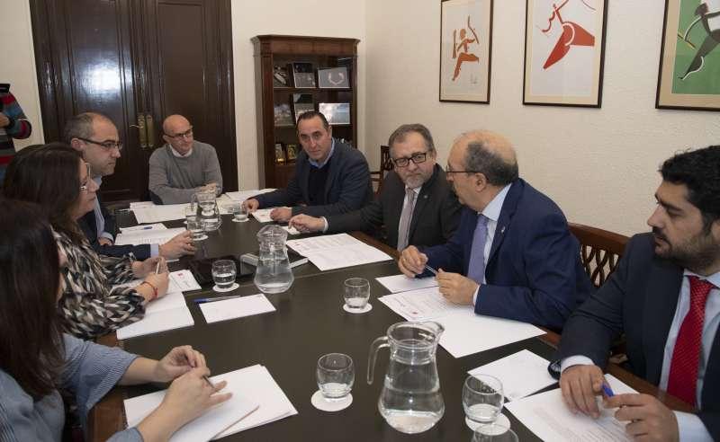 Reunión de las dos diputaciones