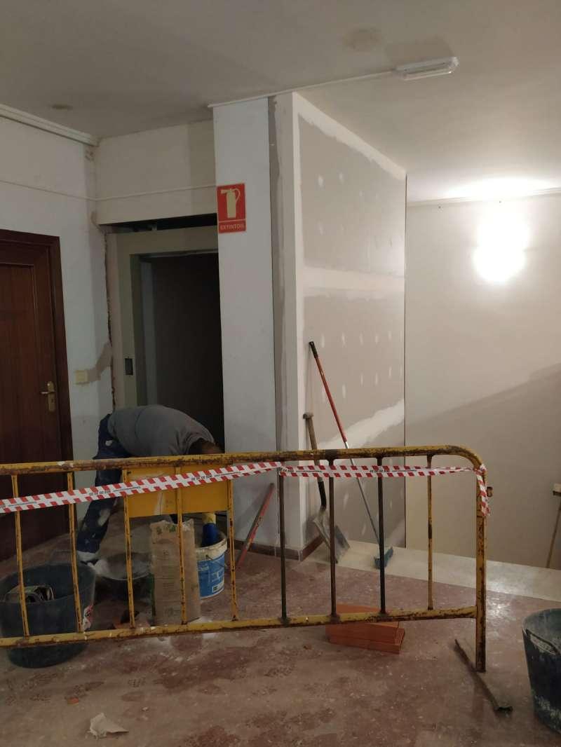 Instalación del ascensor