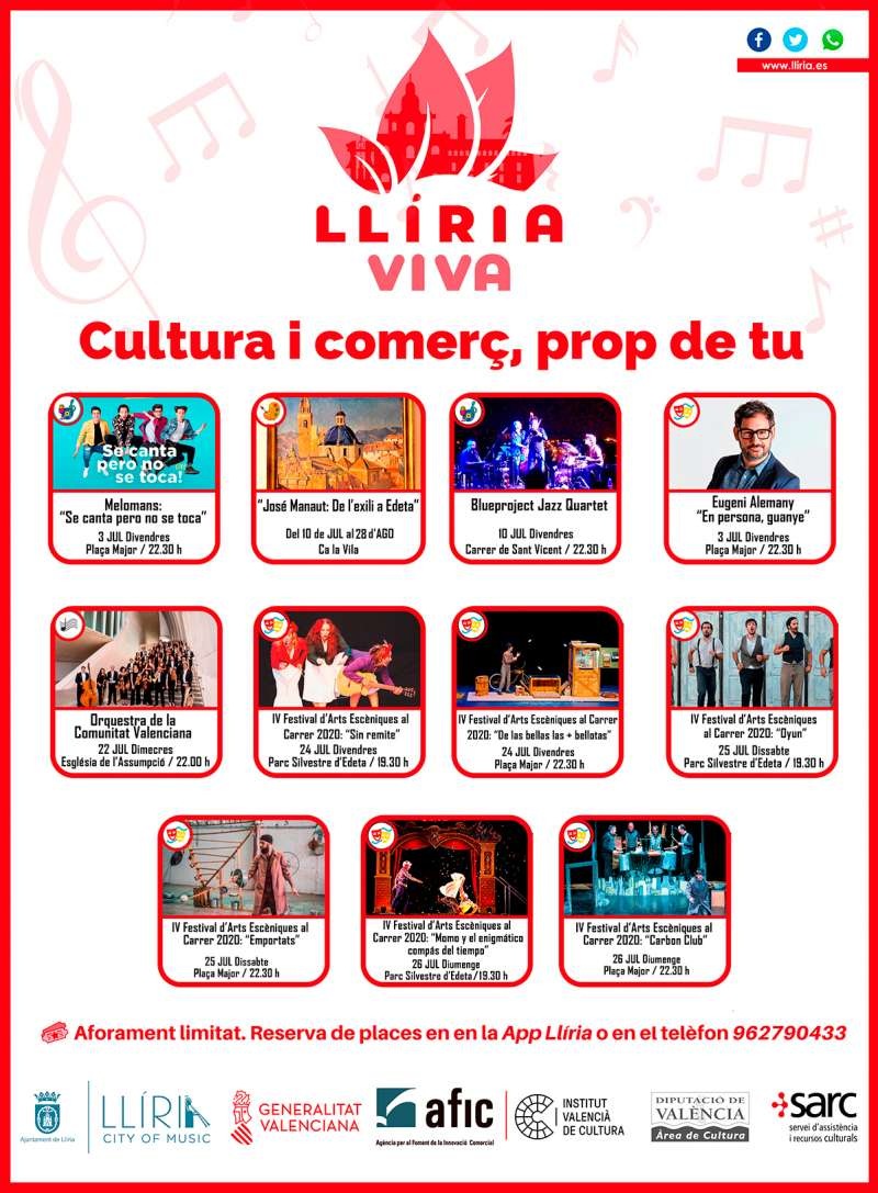 Cartel agenda cultural. / EPDA