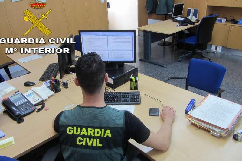 Fotografía de la Guardia Civil. EPDA.