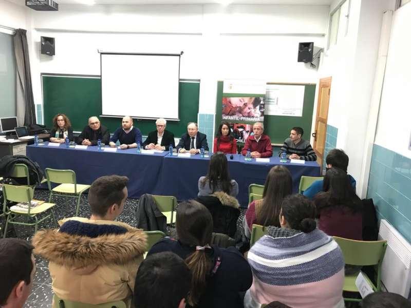 Jornada responsabilidad social empresarial organizada por el patronat sant Jaume Apòstol se Moncada, Cáritas Moncada y AEMON.