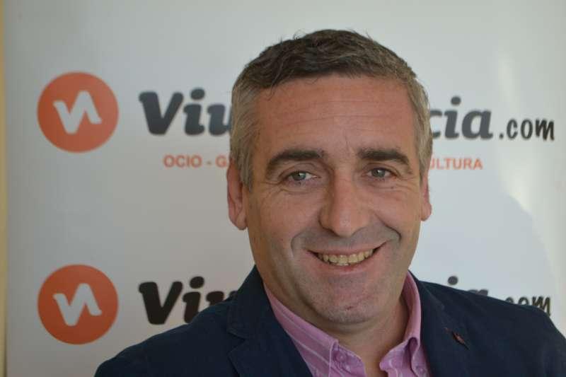 Carlos Gil, alcalde de Benavites (Camp de Morvedre-València). FOTO A. G.