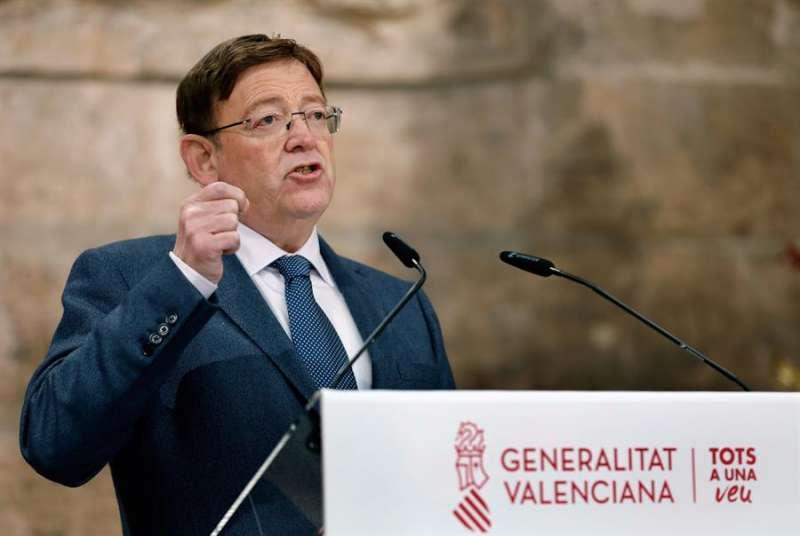 El president de la Generalitat, Ximo Puig, en una imagen reciente.EFE