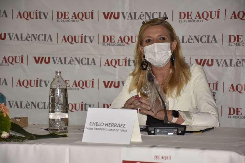 Chelo Herráez, Directora de Promoción Económica de la Mancomunitat del Camp de Túria. / Plácido González